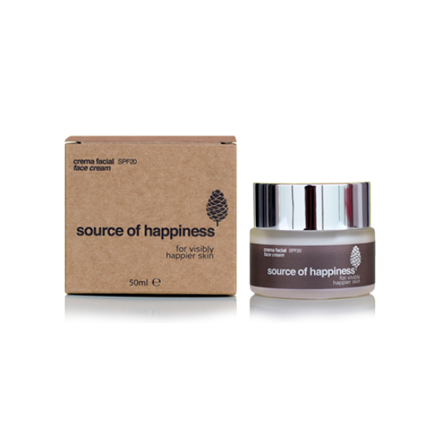 SOURCE OF HAPPINESS / CREMA FACIAL DIÀRIA